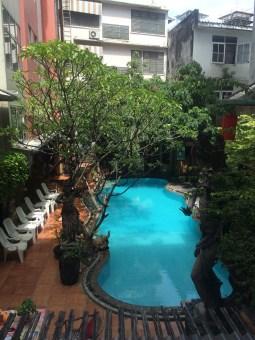 Pool at Villa Cha Cha