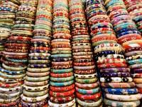 Bangles at market