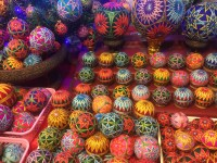 Decorative tennis balls