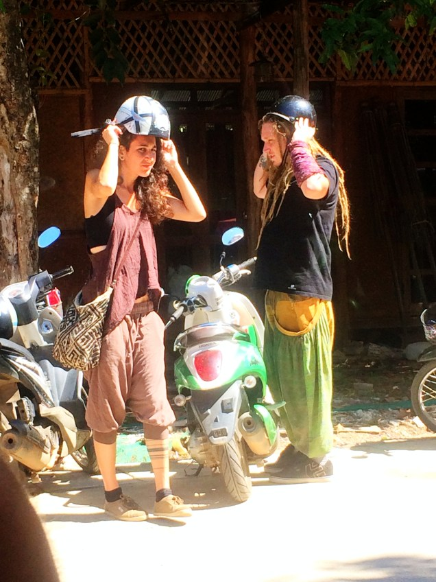 Hippies in Pai