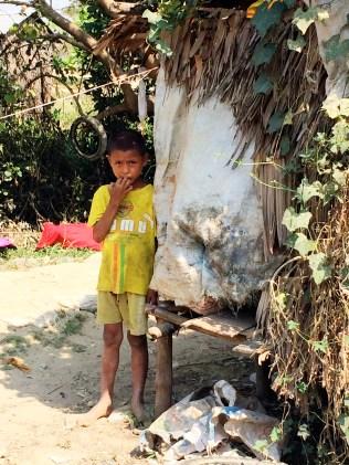 Child - Bamboo Village - Dala, Burma