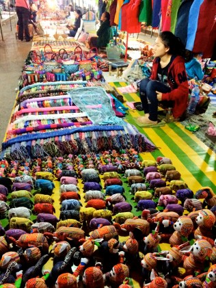 Night market - Luang Prabang