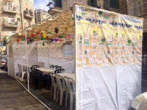Restaurant sukkah