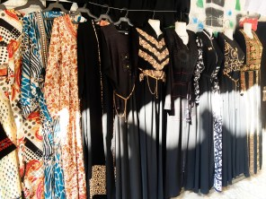 Dresses for sale at the market