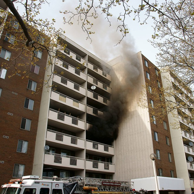 high-rise-fire-showing
