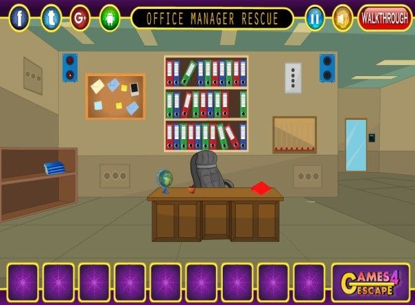Игра Office Manager Rescue – Онлайн