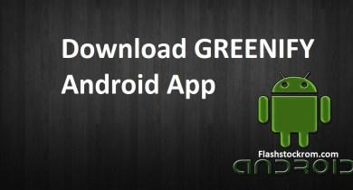 Download GREENIFY App