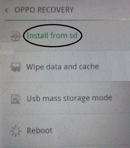 Flash Stock Rom on Oppo F3 Plus CPH1613EX using Recovery Mode