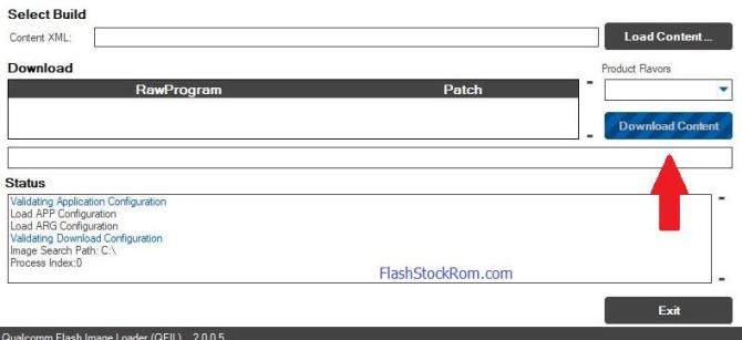 how to use Qualcomm Flash Image Tool - Flash Stock Rom