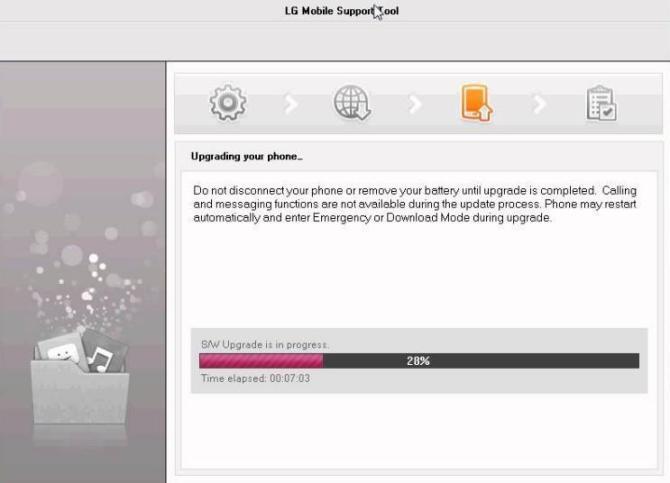 flash LG stock Firmware