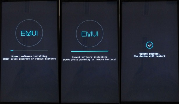 Flash Stock Firmware on Huawei