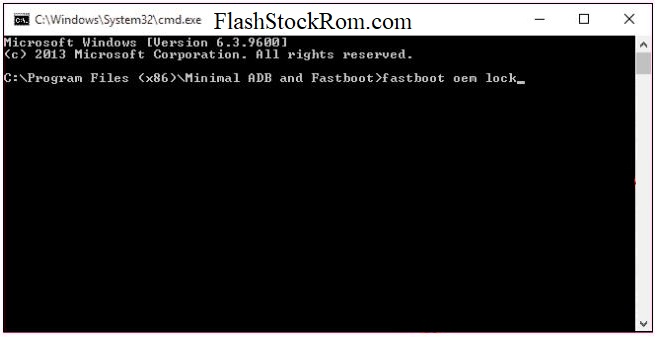 Flash Stock firmware on Google Nexus