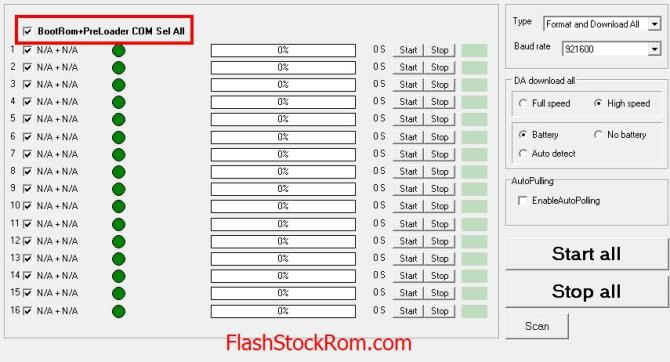 How To Flash Stock Rom with Multiport Download Tool - Flash Stock Rom