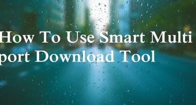 Smart Multi port Download Tool