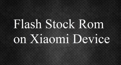 Flashing Xiaomi MI Flash Tool