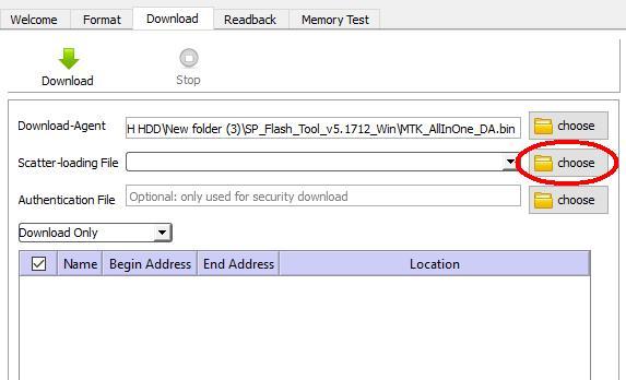 Flash Stock Firmware on SPC Neo 4
