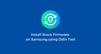 Flash Stock Firmware onSamsung Galaxy A10s SM-A107F