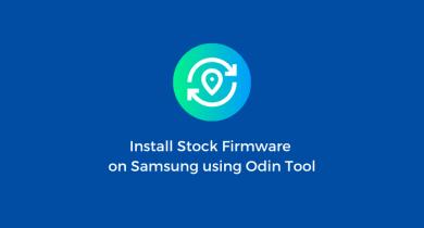 Flash Stock Firmware onSamsung Galaxy Core Prime SM-G361HU