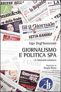 Copertina libro Giornalismo e politica Spa