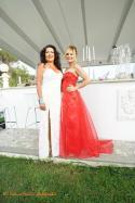La stilista Eleonora Altamore e l'attrice Patrizia Pellegrino