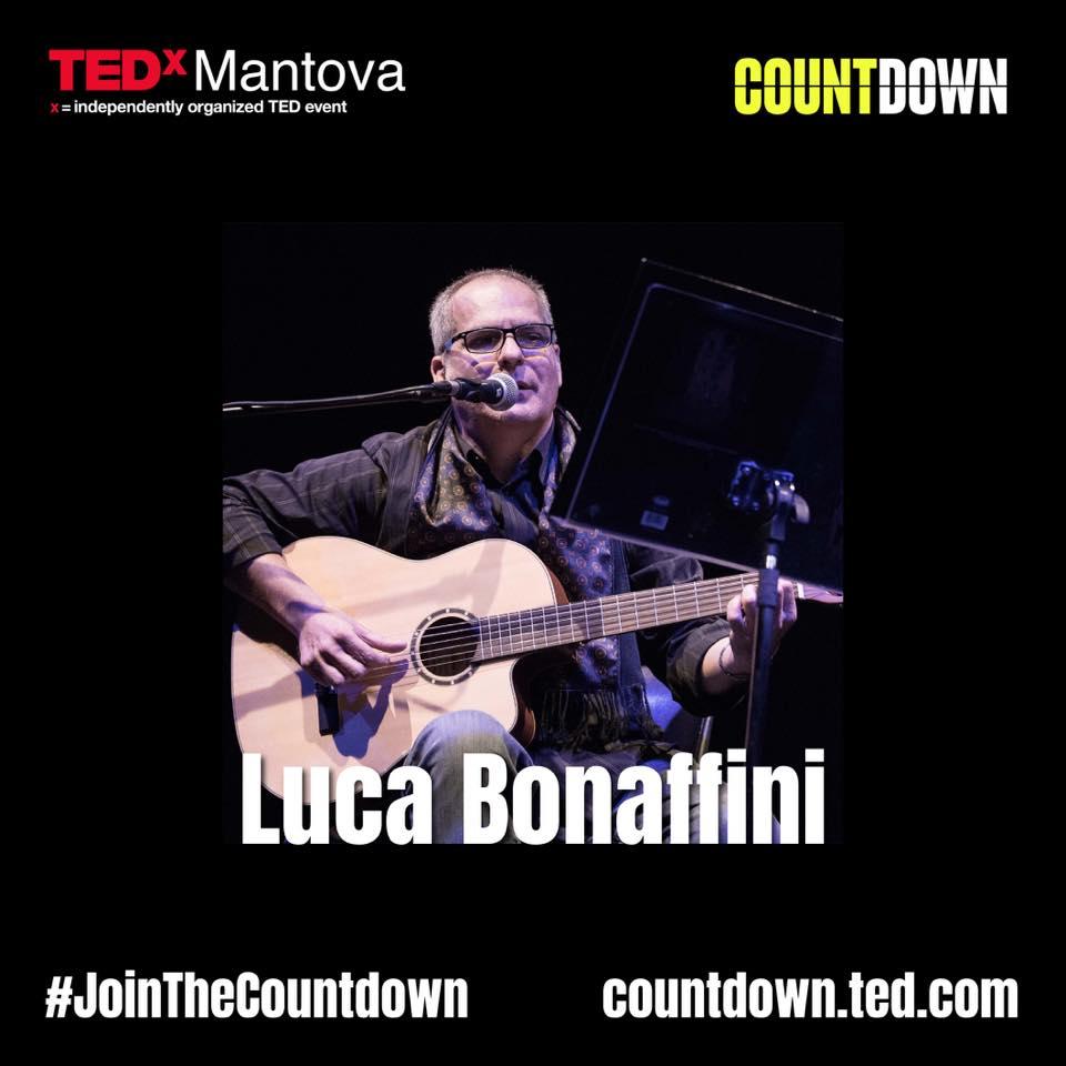 Luca Bonaffini apre l'edizione 2020 di TEDxMANTOVA con un inno al Pianeta
