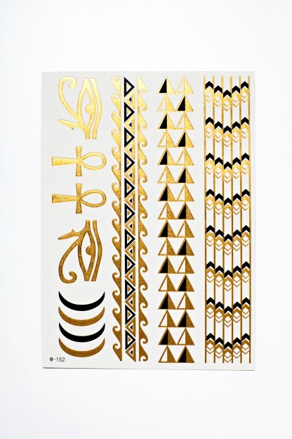 Flash Tattoos - Egyptian Goddess