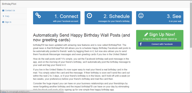 How To Automatically Post Birthday Wishes On Your