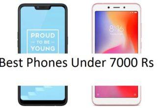Budget phones under 7000 Rs
