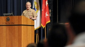 James Mattis (photo credit: CC-BY U.S. Naval War College/Flickr, Times of Israel)