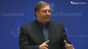 "Speaking on ""Damascus Countdown"" at The Heritage Foundation on April 9, 2013."