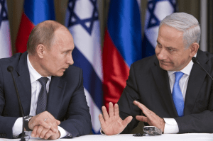 Putin and Netanyahu (file photo)