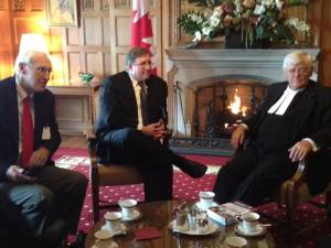 Meeting with the Honorable Noel Kinsella, Speaker of the Canadian Senate.
