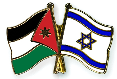 Jordan-Israel-flags