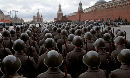 Russia-troopsinRedSquare