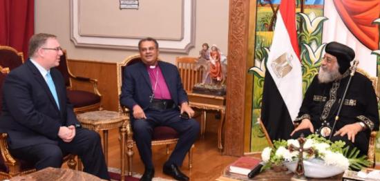 EGYPT-Pope-Joel-Zaki