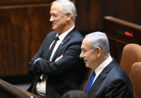 Gantz-Bibi-newgovt-May2020