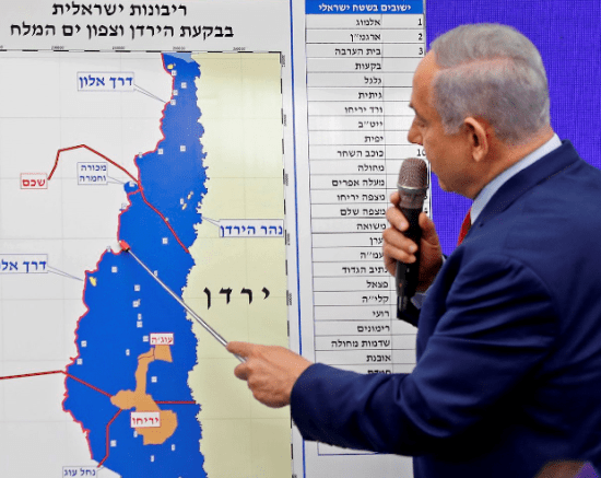 annexation-Netanyahu-map