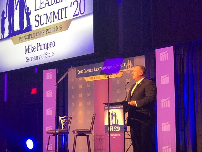 Pompeo: Trump team most pro-Israel administration in US history