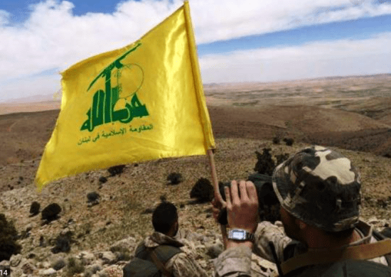 Hezbollah-flagfighter