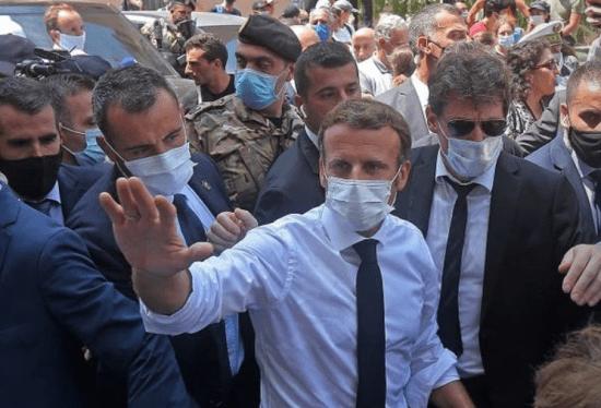 Beirut-Macronvisit