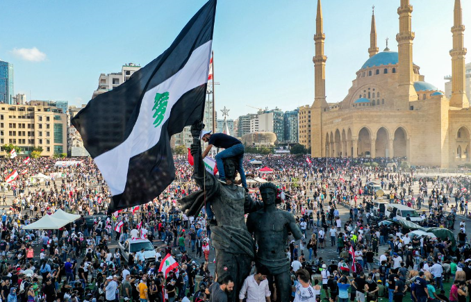 BREAKING: Volcanic, revolutionary rage building against Lebanese government and Hezbollah. Massive protests. Government ministries stormed. Resignations begin. But will any of it be enough to set Lebanon free?