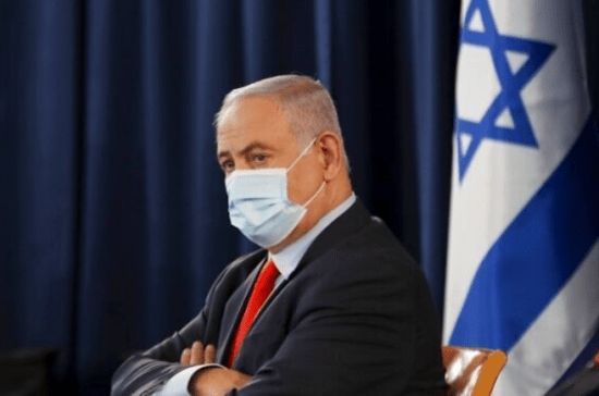 Netanyahu-mask