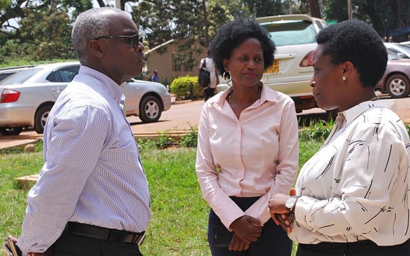 Robert Kabushenga at the 9th-Pakasa Forum with-Susan-Nsibirwa-Barbara Mulwana