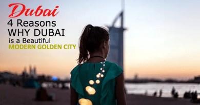 Dubai Modern Golden City