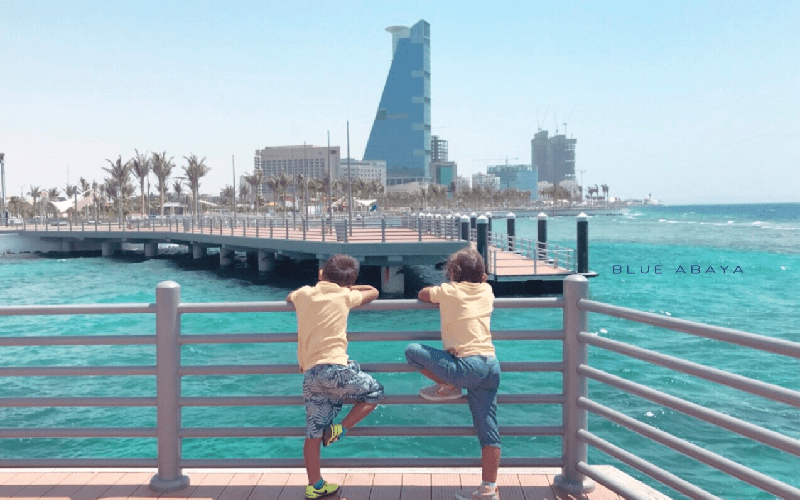 Staycation with Family in Saudi Arabia