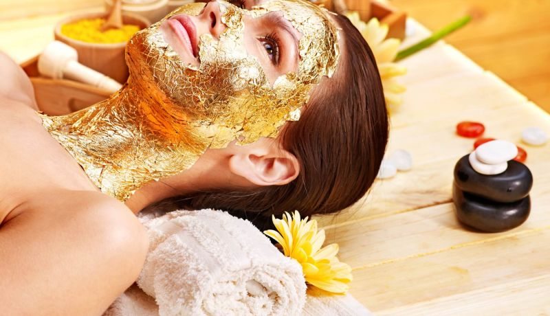 24k gold facial in dubai