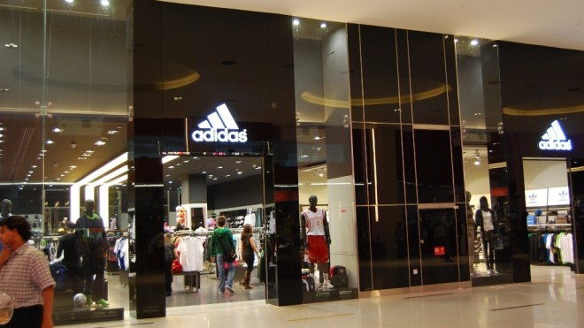 Adidas HomeCourt Store at Mall of Emirates