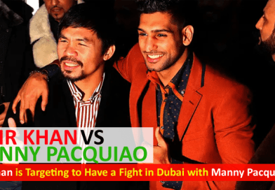 Amir Khan vs Manny Pacquiao in Dubai