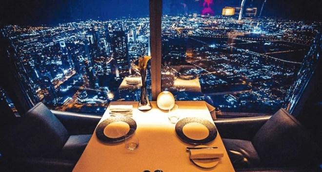 At.mosphere Dubai New Year 2018