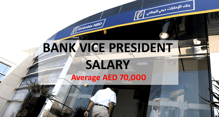 Bank Vice President Salary Dubai